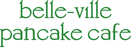 belle-ville pancake cafe logo